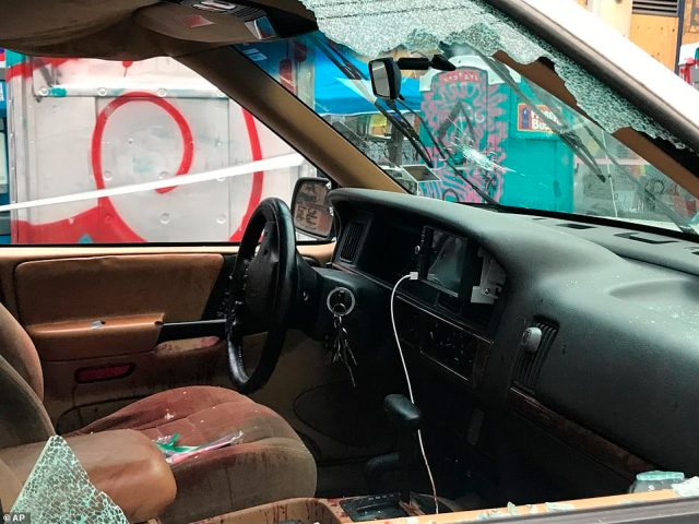 Protesters have claimed the shooting unfolded only after the vehicle plowed into the CHOP zone and those inside the car started shooting