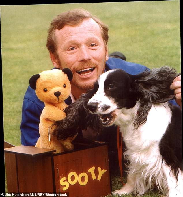 Sweet: Sooty was originally a toy bought for Matthew by his father Harry from a stall when they were on holiday in Blackpool in 1948