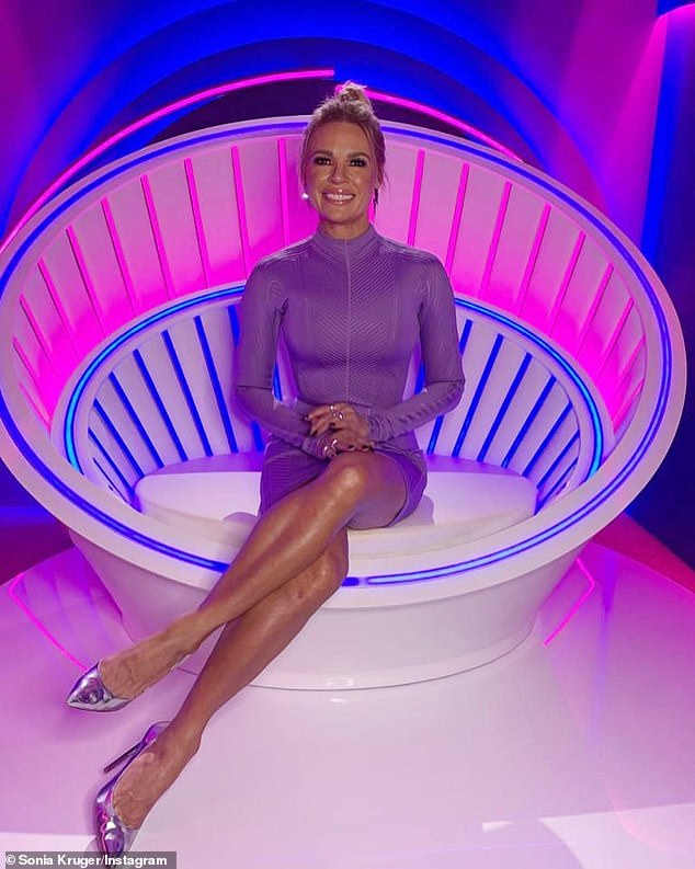 Spilling the beans! It comes after Big Brother host Sonia Kruger (pictured) revealed to The Sunday Telegraph this week that the narrator behind the show is actually 'quite cute'