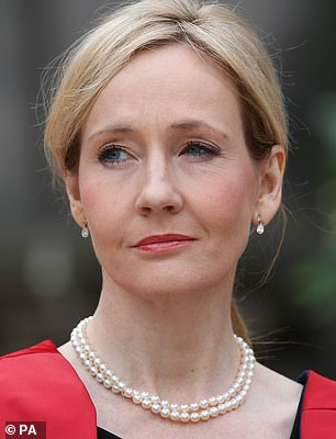 Pictured: JK Rowling
