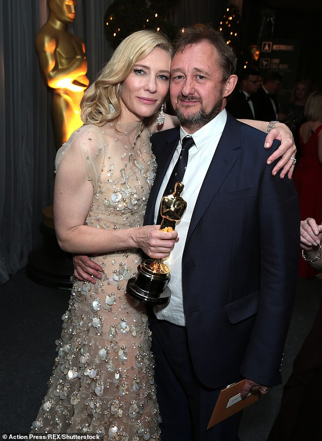 Hollywood royalty: In 2017, actress Cate Blanchett, 51, and her playwright husband Andrew Upton, 54, (pictured together) sold Sydney home in Hunters Hill, Sydney for reported sum of $20million