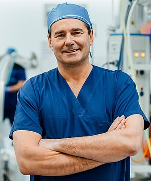 Pictured:Dr Steel, a senior neurosurgeon and spine surgeon at St Vincent's Hospital