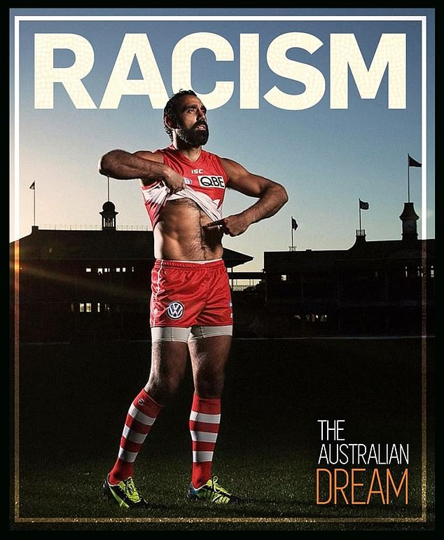 Former Swans champ Adam Goodes told Mike Sheahan he would cross the road if he saw him on the street