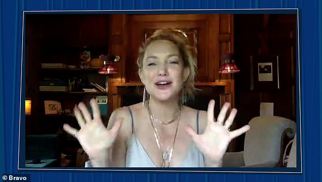 Adore:Kate Hudson wished everyone a Happy Pride, adding, 'I absolutely adore this time and I just wanna send all my love to everybody out there celebrating'