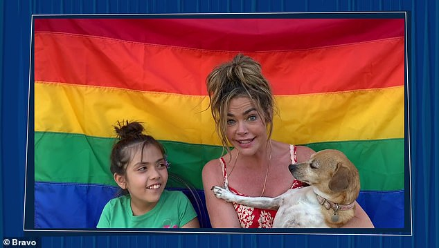 Denise:Denise Richards sent in a video with her daughter Eloise, stating her family are 'proud allies of the LGBTQ+ community' wishing everyone 'Happy Pride and Gay Rights!'