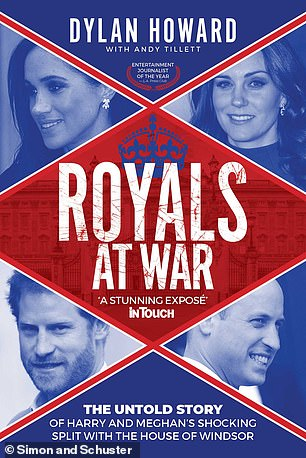 Her 'particular brand of up and at 'em West Coast energy' drove staff to distraction, investigative journalists Dylan Howard and Andy Tillett claim in their new book Royals At War (pictured)