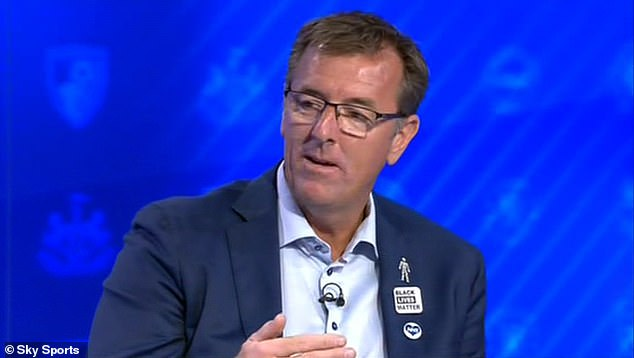 Matt Le Tissier says he is reviewing the use of Black Lives Matter badges on Sky Sports