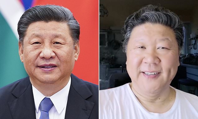 Chinese opera singer, 63, is censored after looking like President Xi