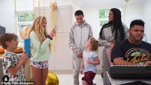 Family: Harvey fell ill at Princess's birthday party on Monday