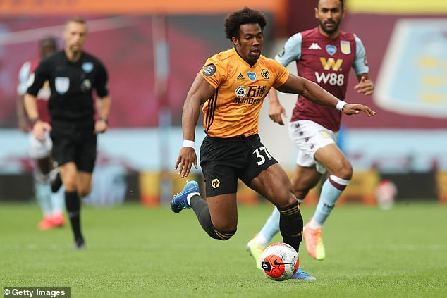 Wolves' Adama Traore has been one of the standout attacking threats in the Premier League