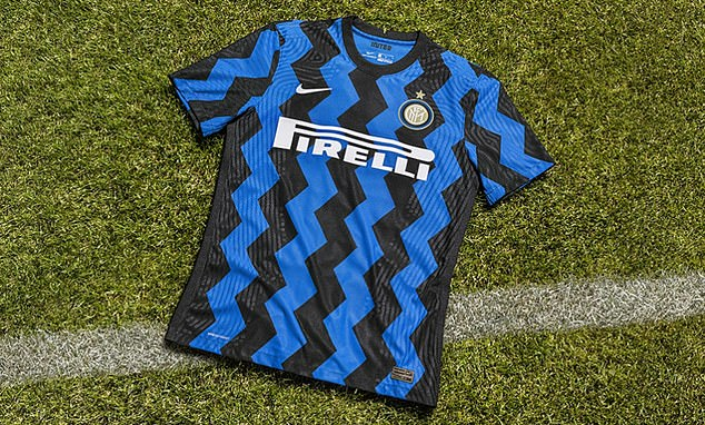 Inter Milan have unveiled a surprising new design for their 2020/21 season home shirt