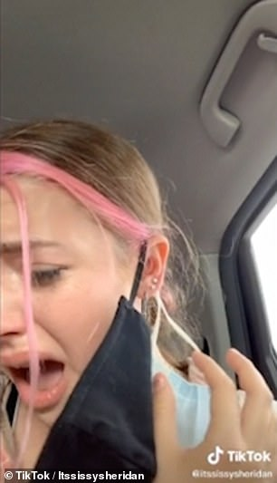 Claire's had told them that no refund could be issued for the $73 piercing unless they returned the earrings