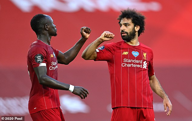 Liverpool can now expect to have Sadio Mane (left) and Mohamed Salah available for the 2020-21 Premier League campaign without Africa Cup of Nations distractions