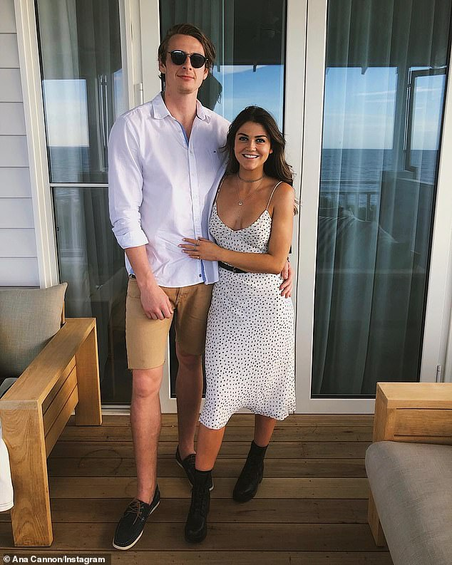 'I love her with all my heart': Despite still not being 'officially' together, Daniel gushed about his girlfriend Ana to the Herald Sun after Tuesday night's episode aired