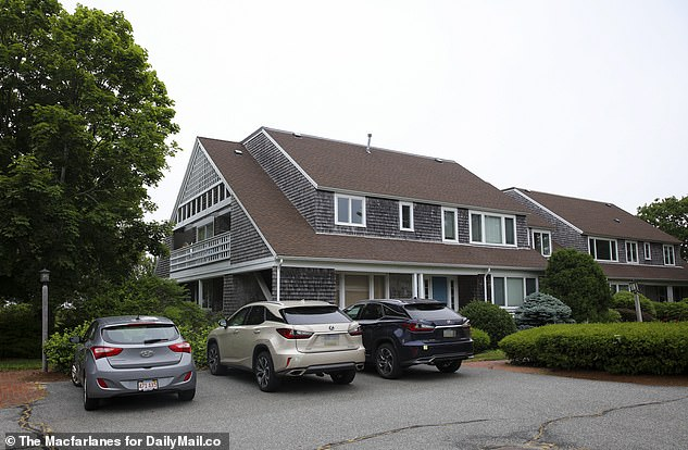 Mary fled her home on New York's Long Island, driving her black Audi 270 miles to the condo on Cape Cod in Massachusetts that she bought in 2004 for $1.15 million, but is now worth nearly double that