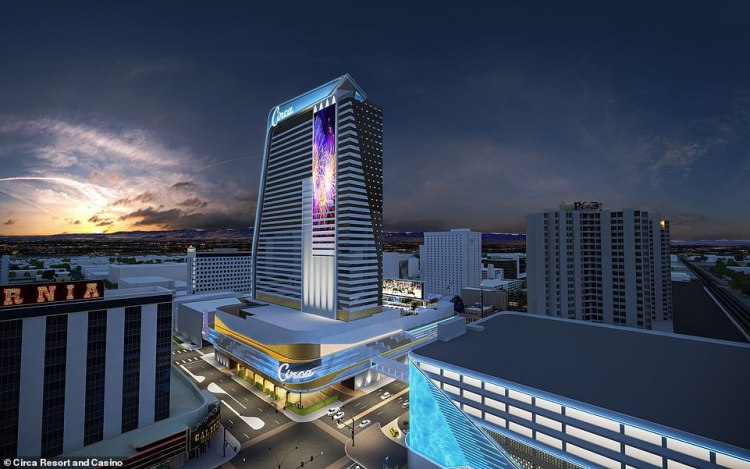 Writer, podcaster and Vegas expert Michael Trager told MailOnline Travel that he is very excited about the new opening - the first adults-only casino resort in Las Vegas