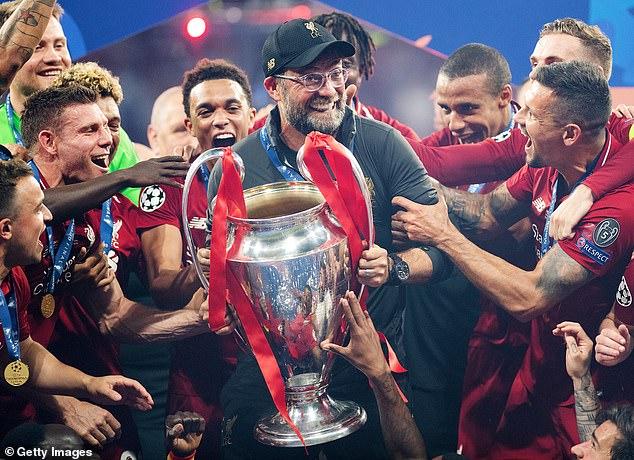 Tottenham lost 2-0 to Jurgen Klopp's Liverpool in the 2019 Champions League final in Madrid