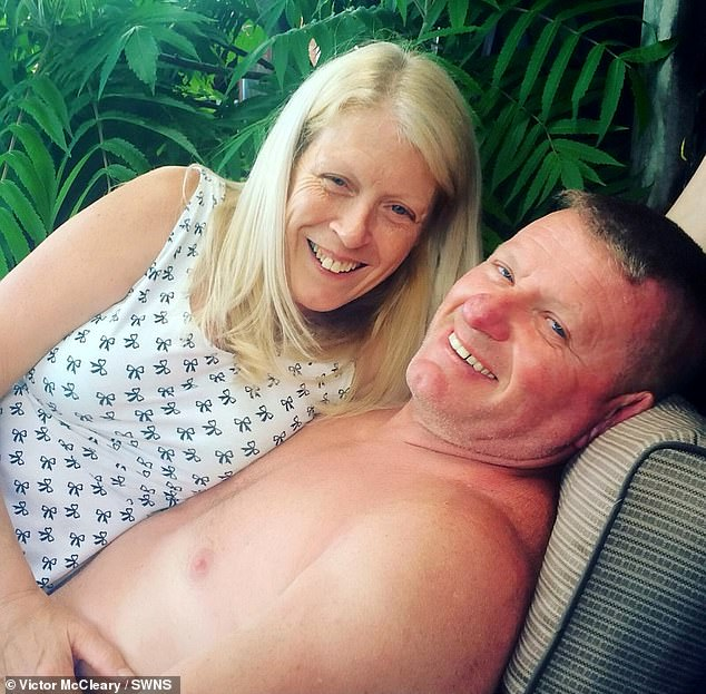 15-stone construction worker was left skin and bones after dropping six stones during his 11-week hospital stay while nurses fed him through a tube