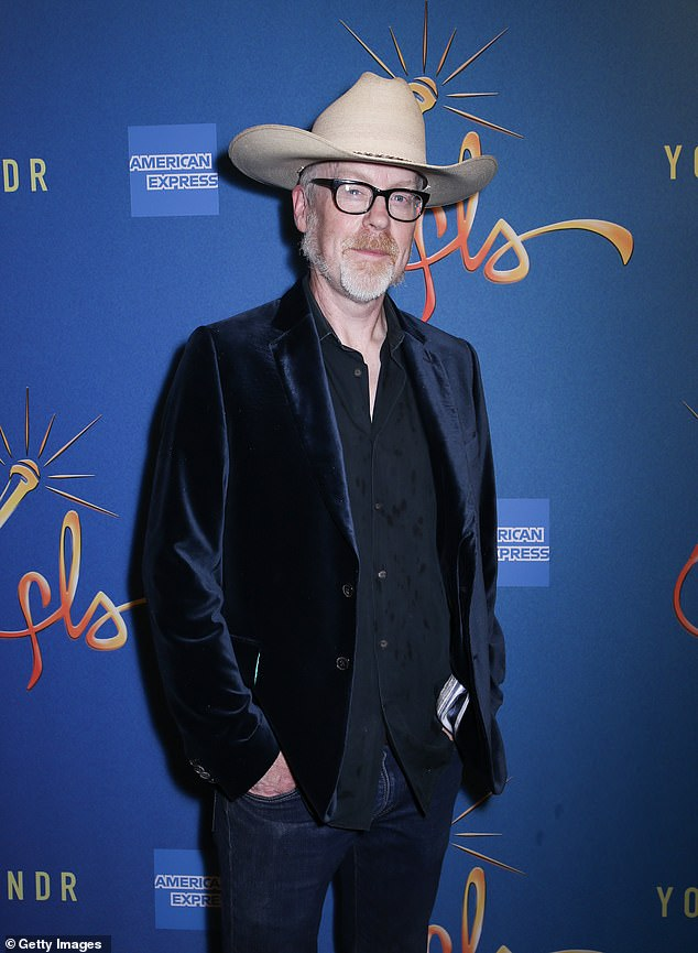 TV personality: Savage, 52, is best known as the former co-host of Discovery Channel series MythBusters which explored the validity of popular myths and legends