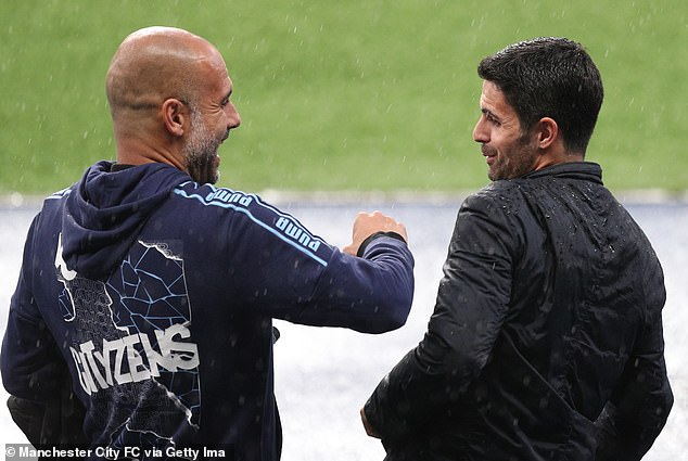 Arteta does say that Guardiola still advices and supports him despite their managerial rivalry