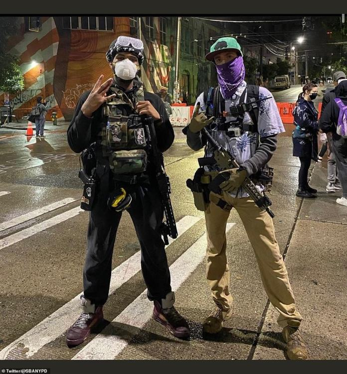 Demonstrators have occupied several blocks around the Seattle Police Department's East Precinct and a park for about two weeks. Police abandoned the precinct following standoffs and clashes with protesters calling for racial justice and an end to police brutality