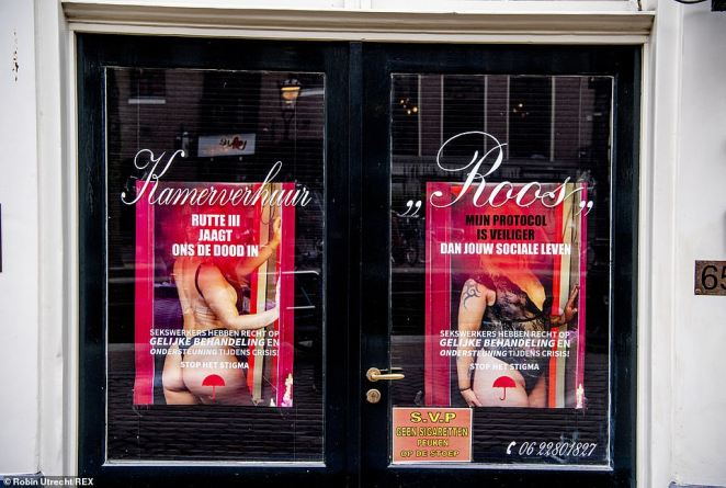 The red light district closed on March 16 as The Netherlands went into lockdown. Many sex workers have struggled financially since. As well as not being able to work, several workers were not eligible for government support because of how they are registered
