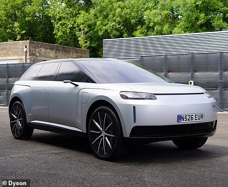 The Dyson electric car was a seven-seater SUV for the luxury market