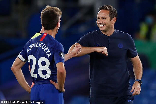 Players such as Cesar Azpilicueta are back to their usual selves under Lampard's stewardship