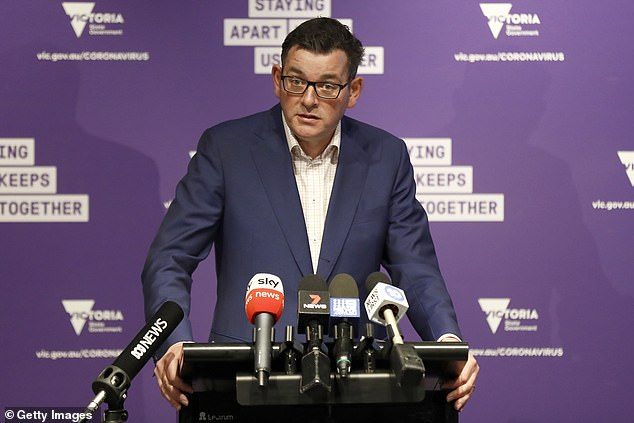 Premier Daniel Andrews on Tuesday afternoon revealed 928 residents across two Melbourne suburbs identified as hotspots had refused tests for the virus