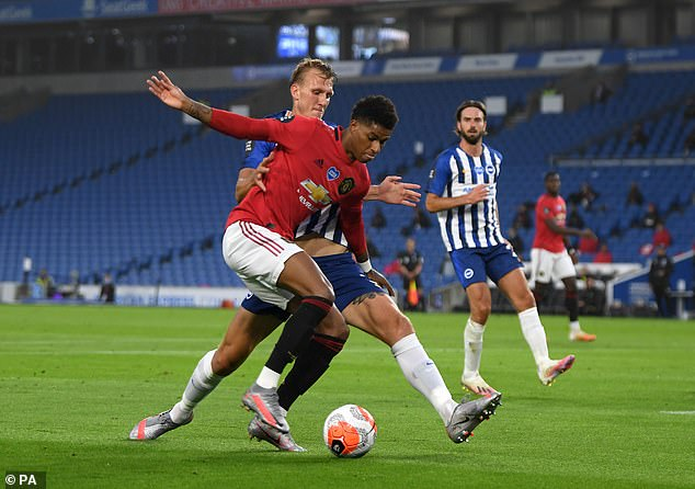 Marcus Rashford must improve his goal return with Greenwood breathing down his neck