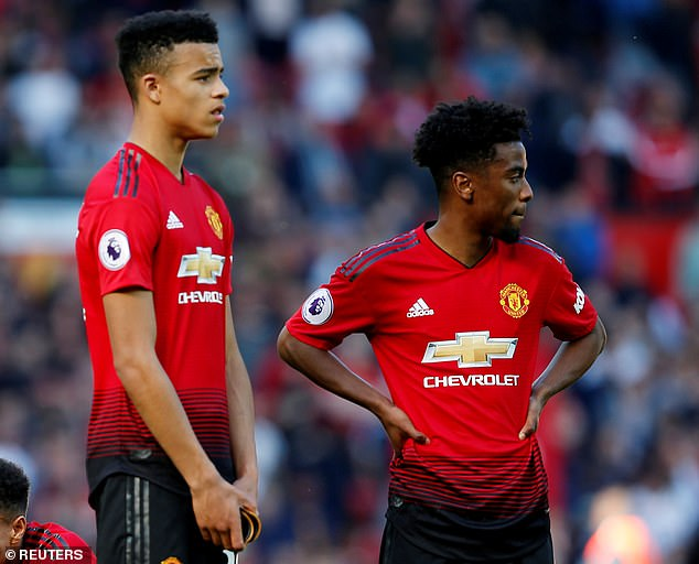 Greenwood and Gomes are close friends having come through the United academy together