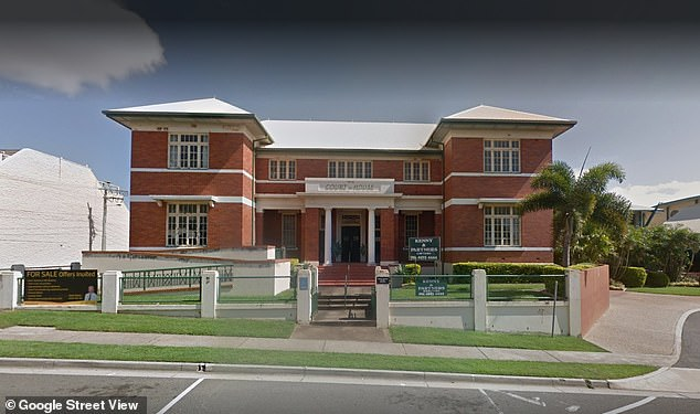 Chugg pleaded guilty to drink driving at Gladstone Magistrates Court (pictured) on Tuesday