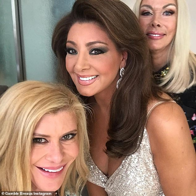 Several delays! Season five was expected to resume filming in July after being put off earlier this year due to the COVID-19 pandemic. Pictured from left: Gamble, Gina and Janet