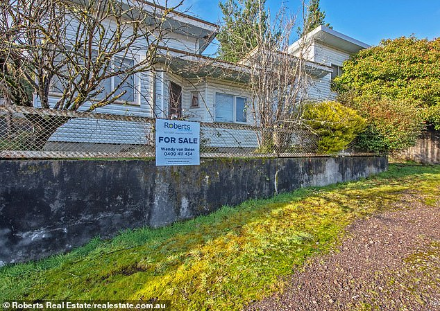 Just $57,000 and you can move into this four-bedroom home near Tasmania's scenic west coast