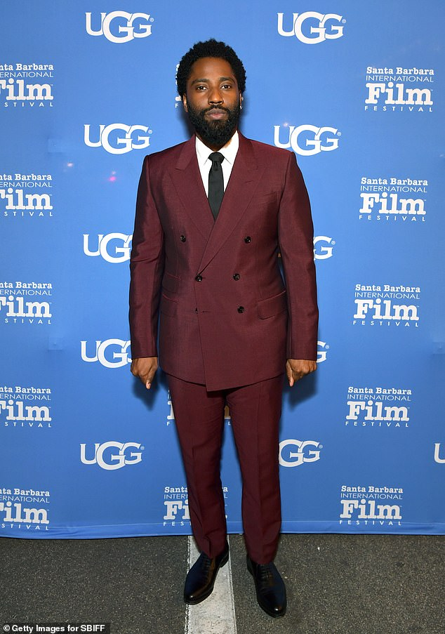 Suits him! John David Washington, pictured 2019, has been extended an invite to The Academy