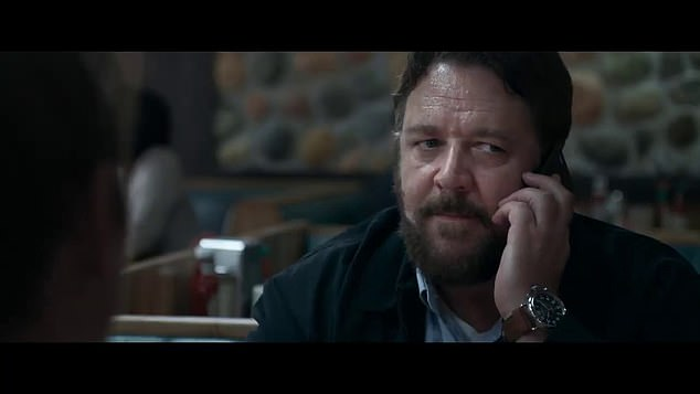 Upcoming: A sneak peek of Russell Crowe's new movie, Unhinged, has been released following news that its release date has been delayed yet again
