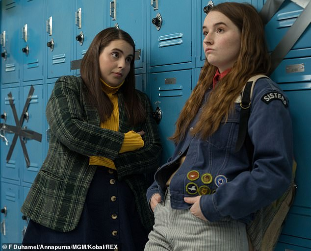 Directing chops: Olivia received critical acclaim for her feature debut Booksmart that was released in 2019, pictured. For her follow-up, she'll helm the thriller Don't Worry, Darling