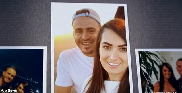 Controversial:Arabella is no stranger to controversy, especially following her high-profile split from Josh Reynolds of the Wests Tigers. (Pictured together)