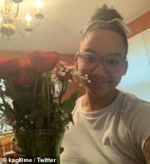 Santos said she's lived in Groveland all her life and was shocked that the man insisted on knowing why she was in that specific neighborhood. Santos pictured in June on Facebook
