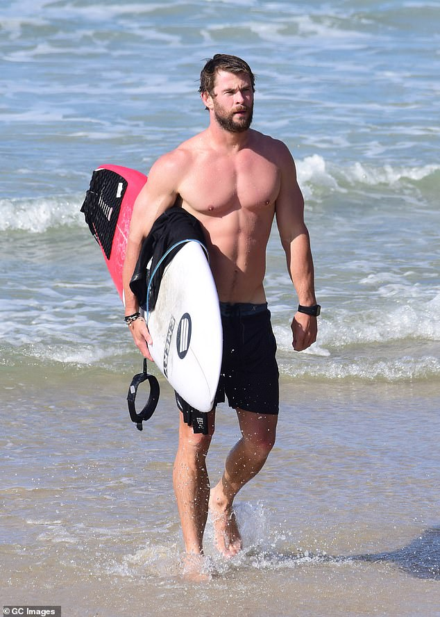 Since 2005, the flying kangaroo's budget subsidiary Jetstar has flown travellers to Ballina near the New South Wales north coast town that is home to Australian movie star Chris Hemsworth (pictured at Byron Bay) and a holiday spot for Zac Effron