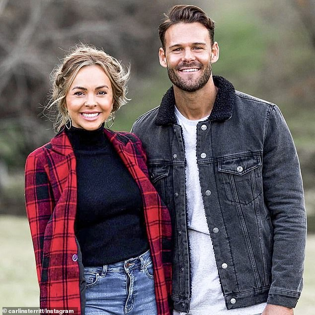 Moving on: She said she wished her fitness trainer ex 'nothing but the best', and apologised to the fans who were invested in their TV romance