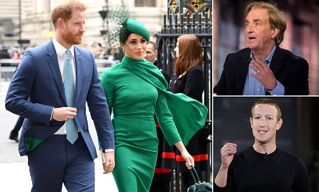 Harry and Meghan will 'target' brands in support of Facebook boycott