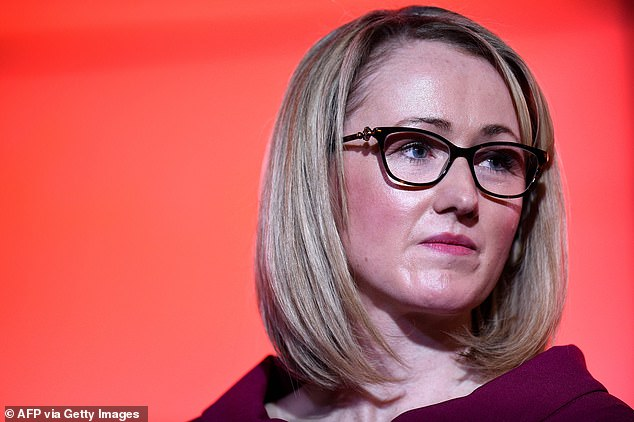 Former leadership candidate Ms Long-Bailey was sacked as shadow education secretary by Sir Keir Starmer last Thursday after linking to an interview by actress Maxine Peake