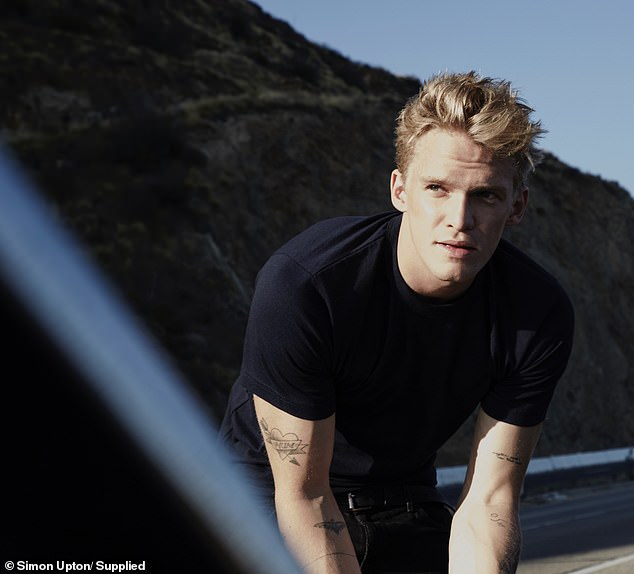 'I've always felt a strong affinity to the ocean': Singer Cody Simpson, 23, has urged Aussies to ditch plastic as he is announced as the face of WWF-Australia on Wednesday