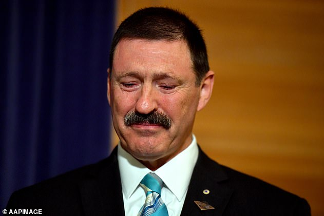 The seat of Eden-Monaro was vacated when Labor MP Mike Kelly (pictured) retired for medical reasons
