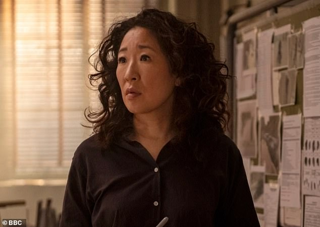 Sandra Oh (pictured) recently spoke about her experience of being the only Asian person on set in an interview for Variety