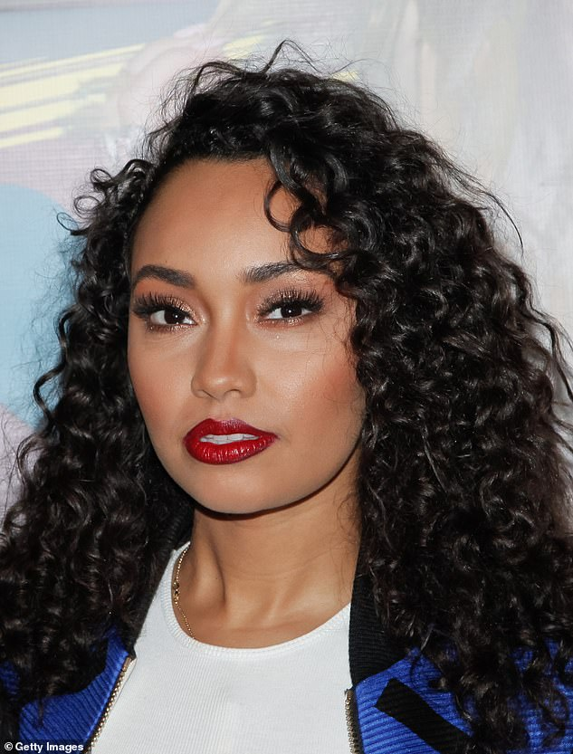 Open: Little Mix singer, 28, accessed the group's Twitter account and shared a now-deleted article about her experience in a Berkshire branch at Waitrose