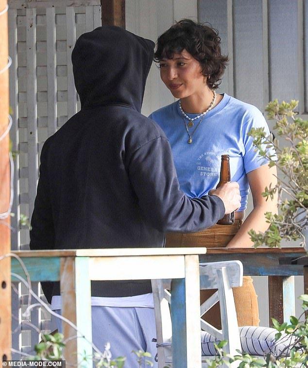 Spotted! Zac was finally spotted in Byron Bay on Wednesday, after weeks of speculation. Following a string of unconfirmed sightings, the Hollywood star was pictured getting friendly with local woman Vanessa Valladares (pictured) at the Byron Bay General Store café