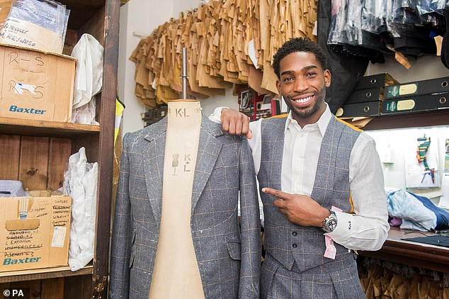 The street attracts famous names from across the world, withTinie Tempah pictured at Norton and Sons in 2015