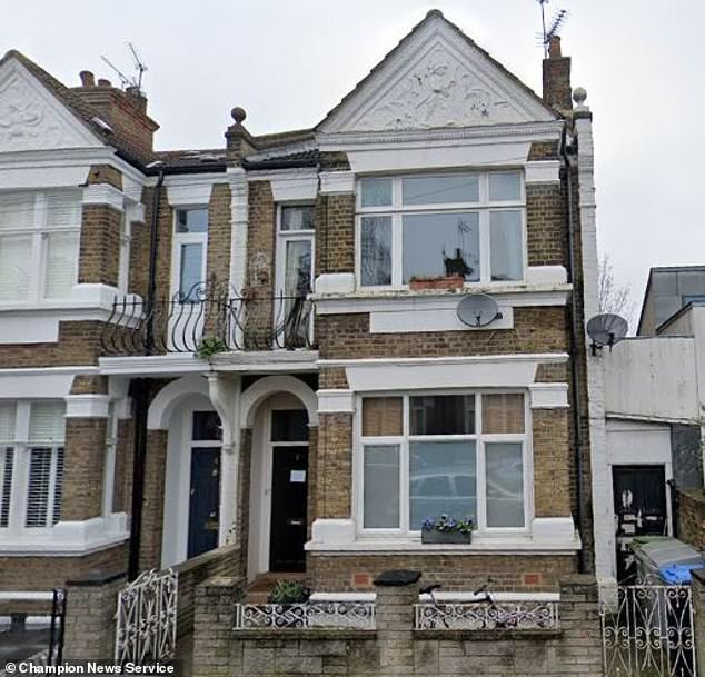 A court found beauty doctor Camila Ryder simply 'forgot' she had promised her share in this £625,000 west London home to her ex-husband Elie Charbel after they split in 2008